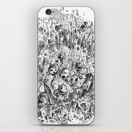 Clash of balloons iPhone Skin