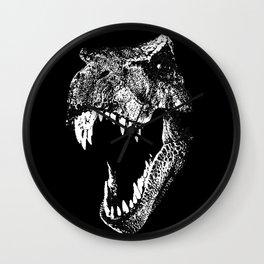 I'm a Dino Fan! Wall Clock