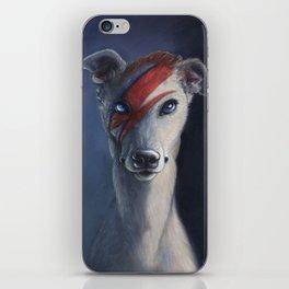 David Bownie iPhone Skin