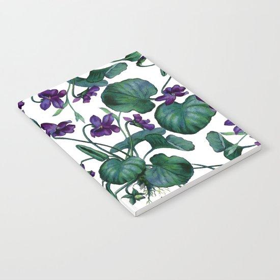 Violets #society6 #decor #buyart Notebook