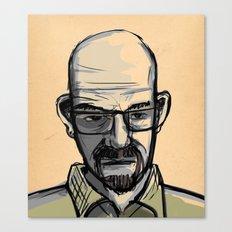 Mr. White Canvas Print