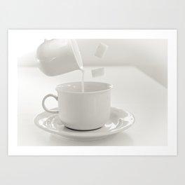 A cup of magic Art Print