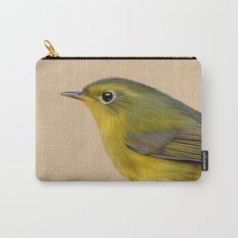 Golden Bush Robin Carry-All Pouch