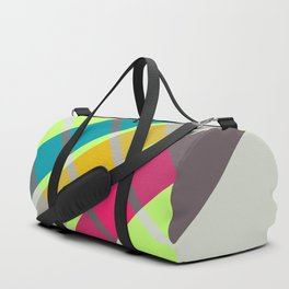 Retro Neon 01 Duffle Bag