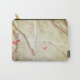 Rainy Winter Berries  Carry-All Pouch