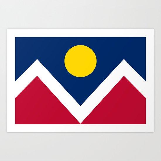 Denver City Flag by flags