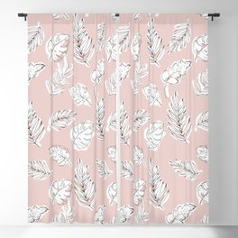 Tropical Love 001 Blackout Curtain