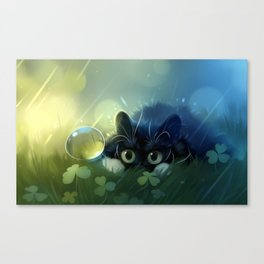 Stealth action Canvas Print