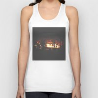 bar Tank Tops featuring Bar by ONEDAY+GRAPHIC