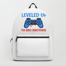 Leveled Up To Big Brother Backpack