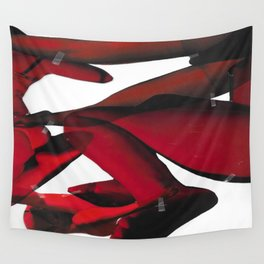 Redness III Wall Tapestry
