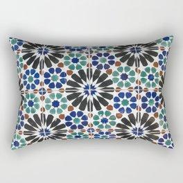 Azulejos Lisbon Portugal 4 Rectangular Pillow