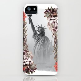 Justice for all Collage iPhone Case