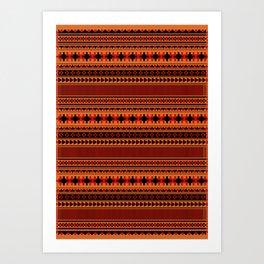 Navajo one Art Print