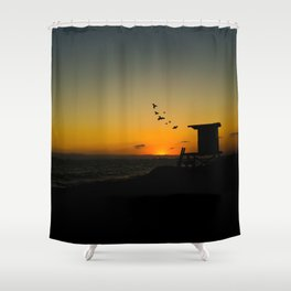 ysunset Shower Curtain