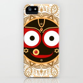 Jagannath. Indian God of the Universe. Lord Jagannatha. iPhone Case