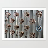 industrial Art Prints featuring Industrial by Avigur