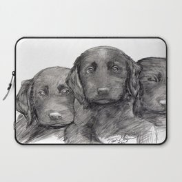 Black and White 10 Laptop Sleeve