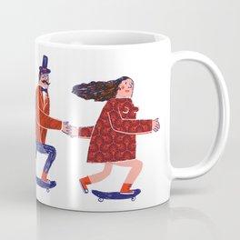 skate couple Coffee Mug