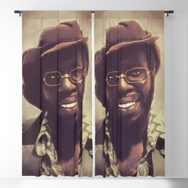 Curtis Mayfield, Music Legend Blackout Curtain