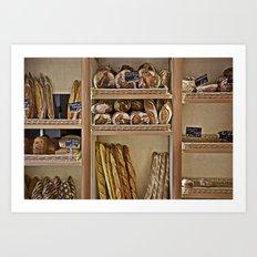 La Boulangerie Art Print