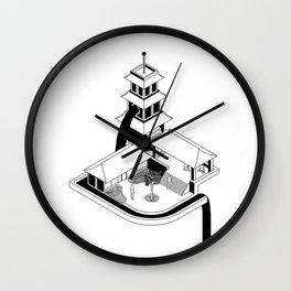 Zen Gardens Wall Clock