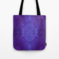 voyage Tote Bags featuring Voyage by Soulive Design