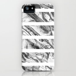 Coastal Rock- Stripes iPhone Case