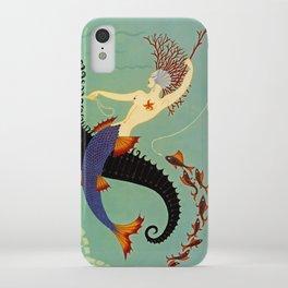 "Art Deco Illustration ""Water"" iPhone Case"