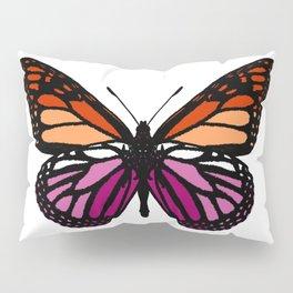Lesbian Pride Butterfly Pillow Sham