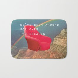We've been around for over two decades (Red chair and the Grand Canyon) Bath Mat