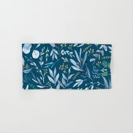 Eucalyptus Blue Hand & Bath Towel