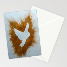 THEPEACEBOMB GOLDE GLITTER Stationery Cards