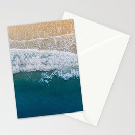 Water on the Beach (Color) Stationery Cards