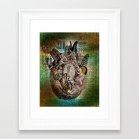 fairies Framed Art Prints featuring Fairies by Moon Willow