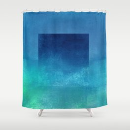 Square Composition IV Shower Curtain