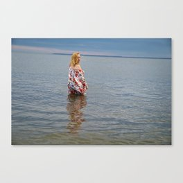 Soft Eyed Beauty Canvas Print