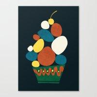 dessert Canvas Prints featuring Dessert by Picomodi