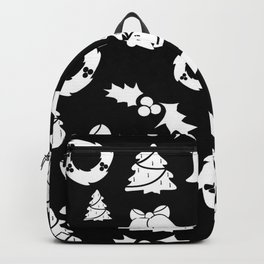 Gothic Xmas | Goth aesthetics | Merry Christmas | Bells | Trees Backpack