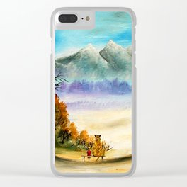 Calvin And Hobbes Look To The Something Clear iPhone Case