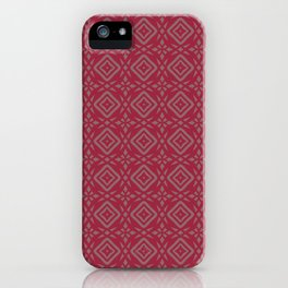 Four-Point Star iPhone Case
