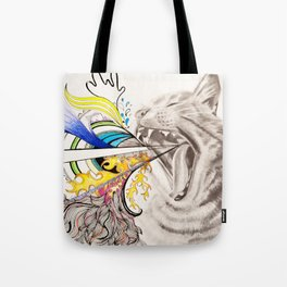 Extrovert Tote Bag