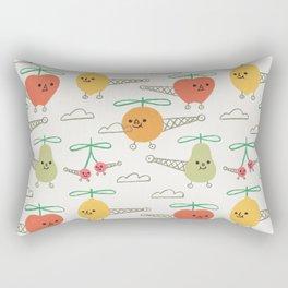 Fruits Helicopter Rectangular Pillow