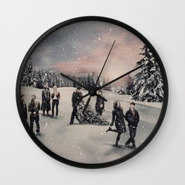 Christmas / OUAT Group Wall Clock