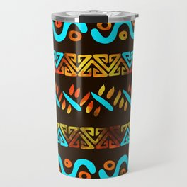 Bold Ethnic pattern n.7 Travel Mug