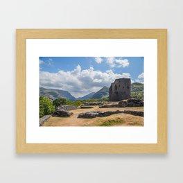 Dolbadarn Castle Framed Art Print