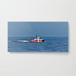 Coast Guard Cutter Metal Print