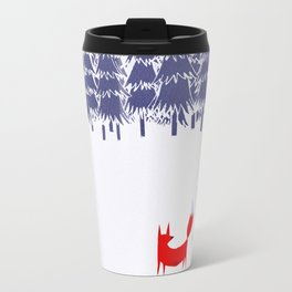 Alone in the forest Travel Mug