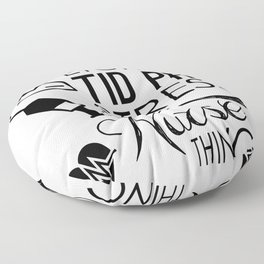 Nursing Stress It's A Nurse Thing You Wouldn't Understand Medical Professional Floor Pillow