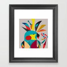 Cockatoooo Framed Art Print
